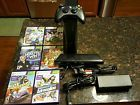 microsoft xbox 360 console 250gb bundle kinect six games and controller  Price 50.5 USD 16 Bids. End Time: 2016-12-05 00:06:30 PDT