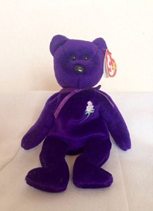 Couple buy a Beanie Baby for £10, only to find it's worth £60,000