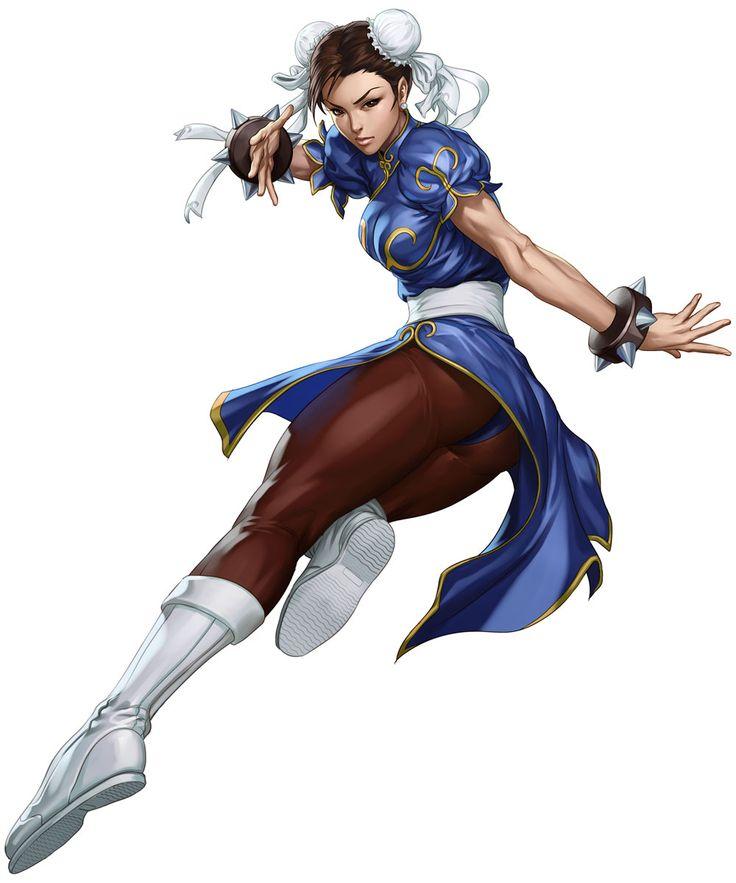 "Chun-Li - Street Fighter III: Third Strike Online Edition  Art by Stanley ""Artgerm"" Lau"