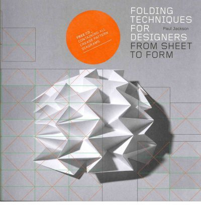 Many designers use folding techniques in their work to make three-dimensional forms from two-dimensional sheets of fabric, cardboard, plastic, metal and many other materials. This book explains the key techniques of folding, such as pleated surfaces, curved folding and crumpling. It covers over 70 techniques explained by drawings.