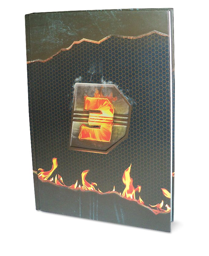 Dhoom 3 - 3 Subject Notebook, Design B