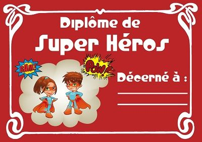 activite super hero | Le Crapoupak : chasse au trésor de super-héros