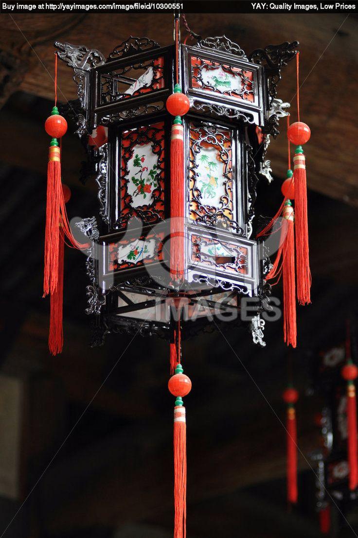 chinese palace lanterns   Royalty Free Image of Chinese Palace Lantern