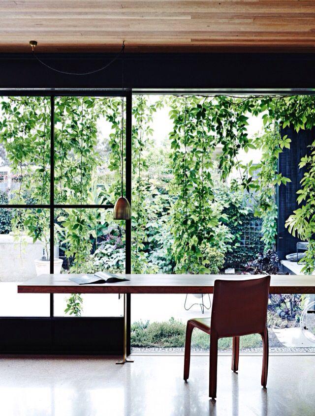 vogue living | Melbourne home | artist Anna charlesworth | nature inspired