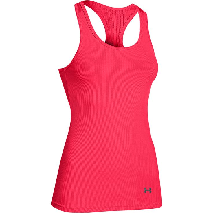 Under Armour Heatgear Tanktop @ SportKingz.com #women#vrouwen#top#roze#training#running#dance#yoga