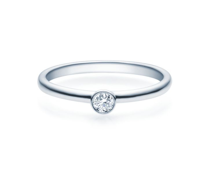 Engagement Ring Silver 0 08 Ct 0 25ct Tw Si Silver Jewelery Solitaire Trauringe Friendship Rings Traditional Silver Partnerrings Silver Jewelery Wedd Engagement Rings Wedding Rings Silver Jewelery