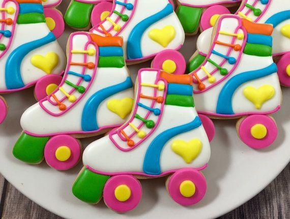 Roller Skate Cookies par Whoosbakery sur Etsy