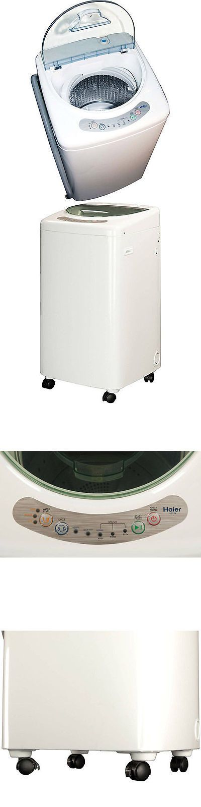Washing Machines 71256: Haier 1.0 Cubic Foot Portable Washing Machine -> BUY IT NOW ONLY: $247.37 on eBay!