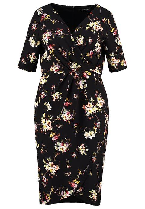 Zomerjurken Paper Dolls Curvy Korte jurk - black multi Zwart: € 55,95 Bij Zalando (op 3-1-17). Gratis bezorging & retournering, snelle levering en veilig betalen!