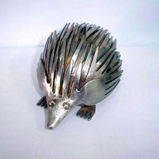 We think we'll just call this little guy a forkupine.  http://www.homepro.co.il/yoram