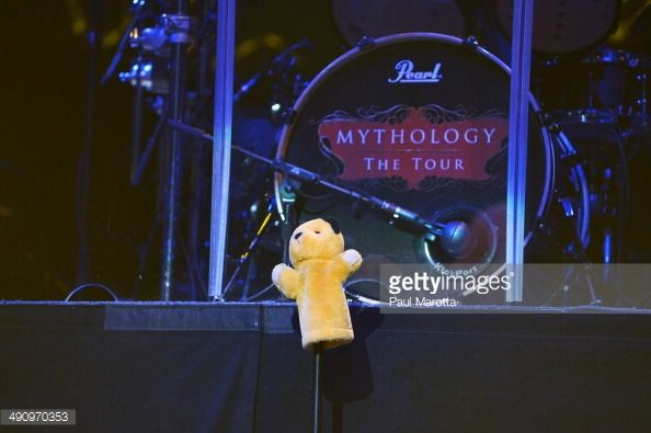 The last surviving member of the Bee Gees Barry Gibb kicked of his 'Mythology The Tour Live' in Boston where Massachusetts Governor Deval Patrick...