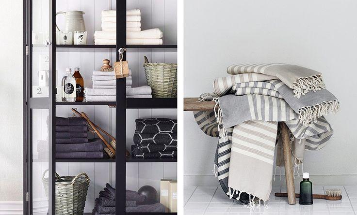 Bathroom textiles, fancy towels and hammam towels - domesticated Units