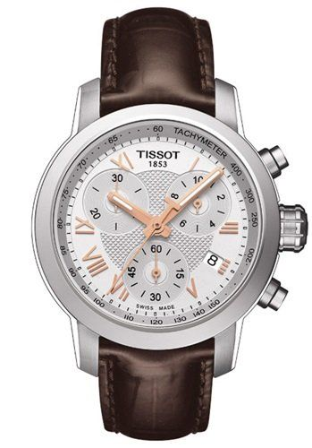 I like chunky watches for ladies - Tissot's got this still very elegant version! Tissot PRC 200 Lady Chrono.