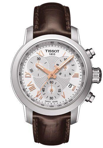 I like chunky watches for ladies - Tissot's got this still very elegant version! Tissot PRC 200 Lady Chrono.
