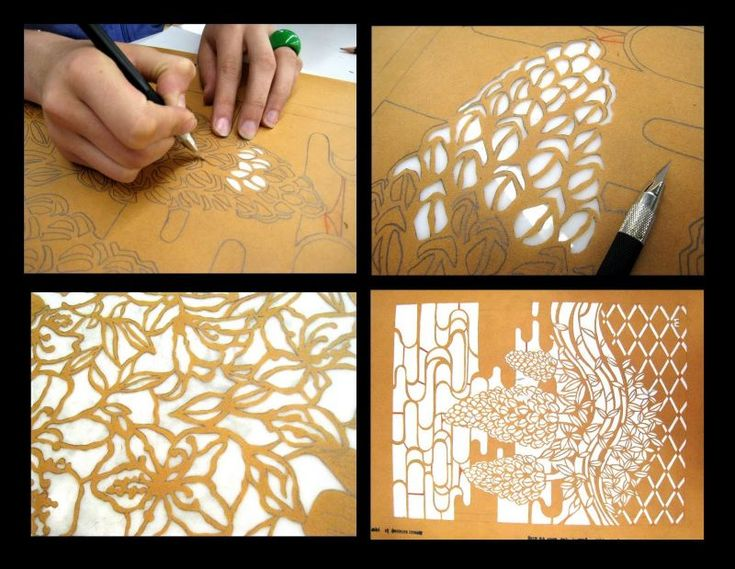 335 Best Stencil Moulds Cutters Images On Pinterest