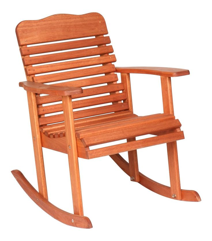 Hinkle Chair Company Cinnamon Finish Grandis 950 Style Rocking Chair, Red. Constructed of Red Grandis tropical hardwood. Oversized Slat Seat. Sturdy arm rests. Sikkens Translucent Wood Treatment. Easy Assembly.