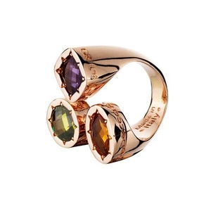 Rebecca jewelry 3 stone ring! So many ideas come to mind..birthstones, favorite colors, etc.
