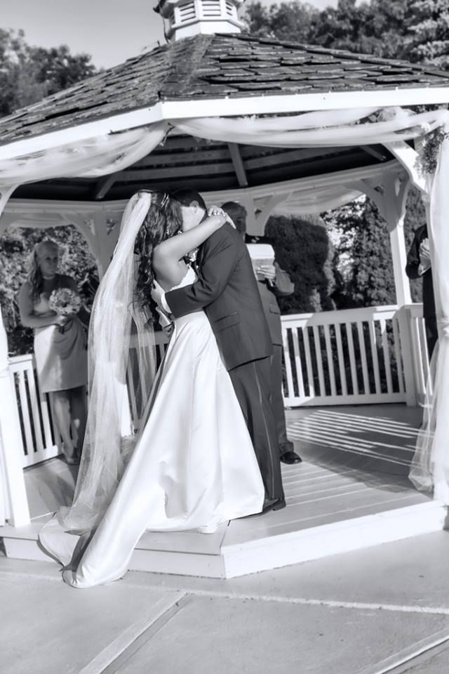 After you are pronounced husband and wife, consider playing a song such as Signed, Sealed, Delivered by Stevie Wonder for your walk back down the aisle.   #newlyweds #justmarried #southernweddings #dj #weddingdj #djlife #kyprodjexperience #sharethelex #kybride #ky #lexington #southernbride #kyprodj #married #wedding #ceremony #kiss #steviewonder  Photo Source: https://www.flickr.com/photos/ericabreetoe/9275322124/