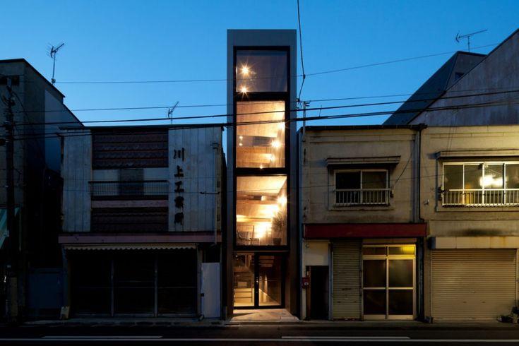 tokyo narrow house main