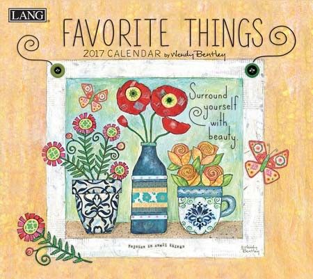 Favorite Things 2017 Wall Calendar , 17991001857 | Lang