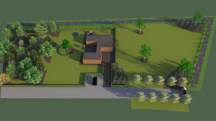 Landelijke Tuin Ontwerpen : Tuin ontwerp landelijke jversteegh