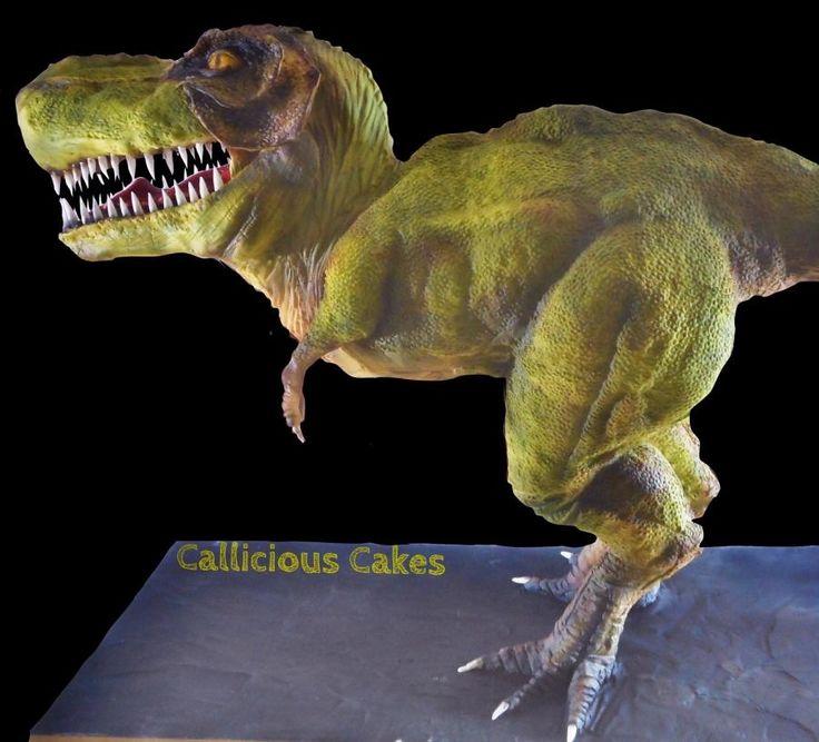 52 best t Rex cake fir Nehan images on Pinterest Dinosaur cake