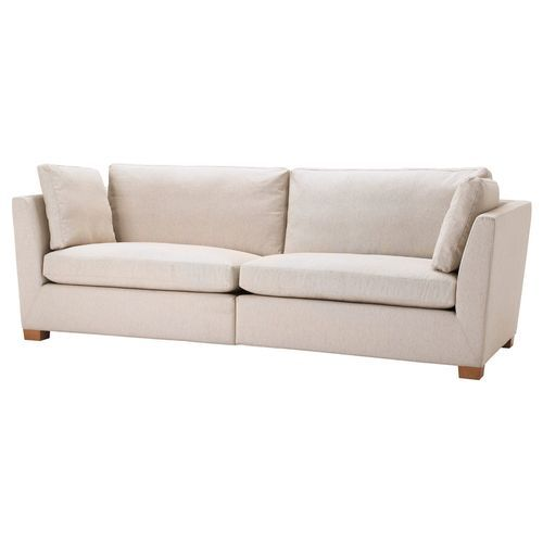 ikea stockholm cover 3 5 seat seater sofa slipcover gammelbo beige decor ideas pinterest. Black Bedroom Furniture Sets. Home Design Ideas