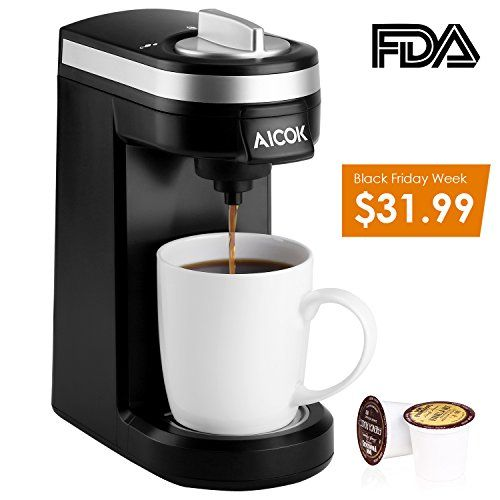 Aicok Single Serve Coffee Maker, Coffee Machine for Most ... https://smile.amazon.com/dp/B015E971CG/ref=cm_sw_r_pi_dp_x_yLngAb9JXM6CE