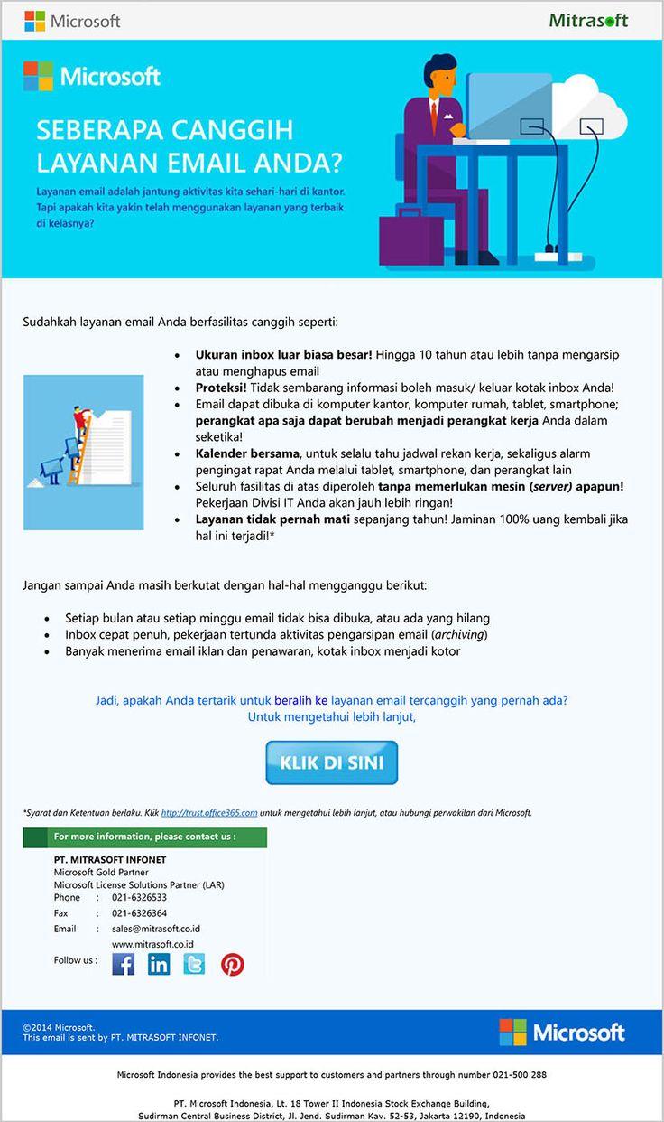 Mitrasoft #Office365 Beralih ke Layanan Email Tercanggih yang ...