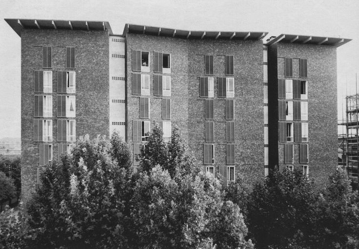 Casa Borsalino, Alessandria 1952_Ignazio Gardella