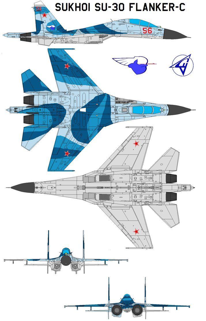 Sukhoi Su-30 Flanker-C by bagera3005 on DeviantArt