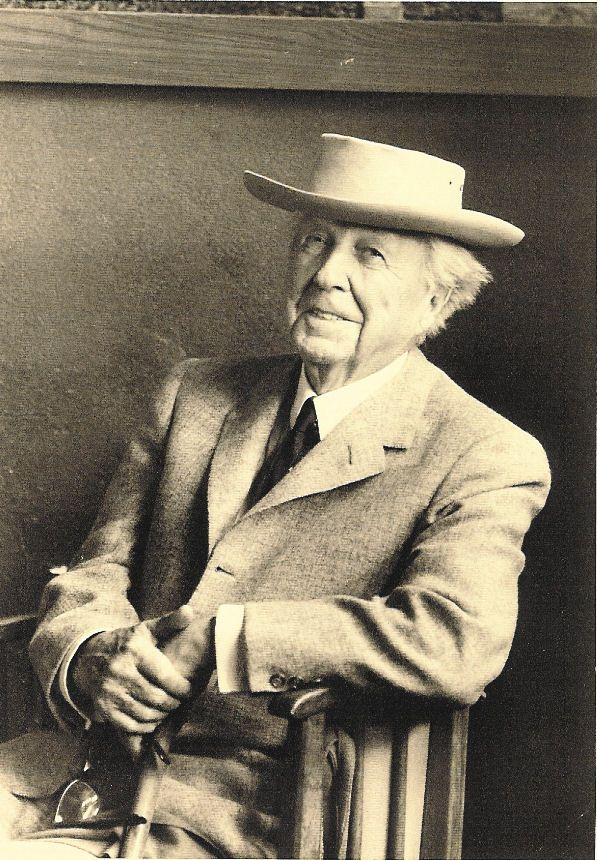 Frank Lloyd Wright:  fascinating if imperfect man.  Even his buildings are not perfect.
