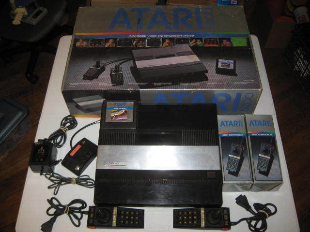 Atari 5200 Console In Box w/Super Breakout Controllers Need Repair #Atari