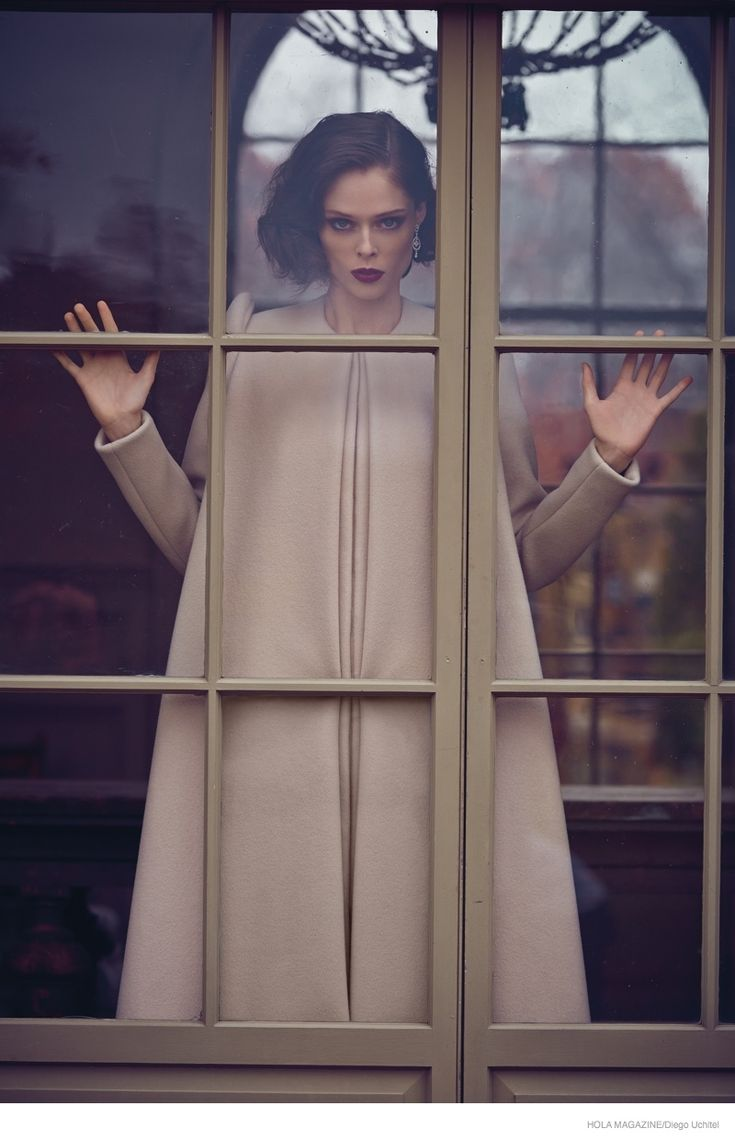 Coco Rocha in Dreamy Gowns for Hola Magazine by Diego Uchitel