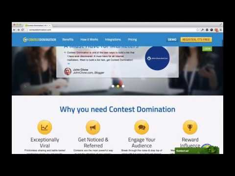 Contest Domination pro V2 |What this Contest Domination pro V2 review - YouTube