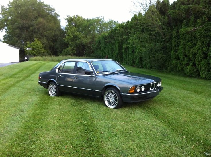 Bmw e23 728i manual meat