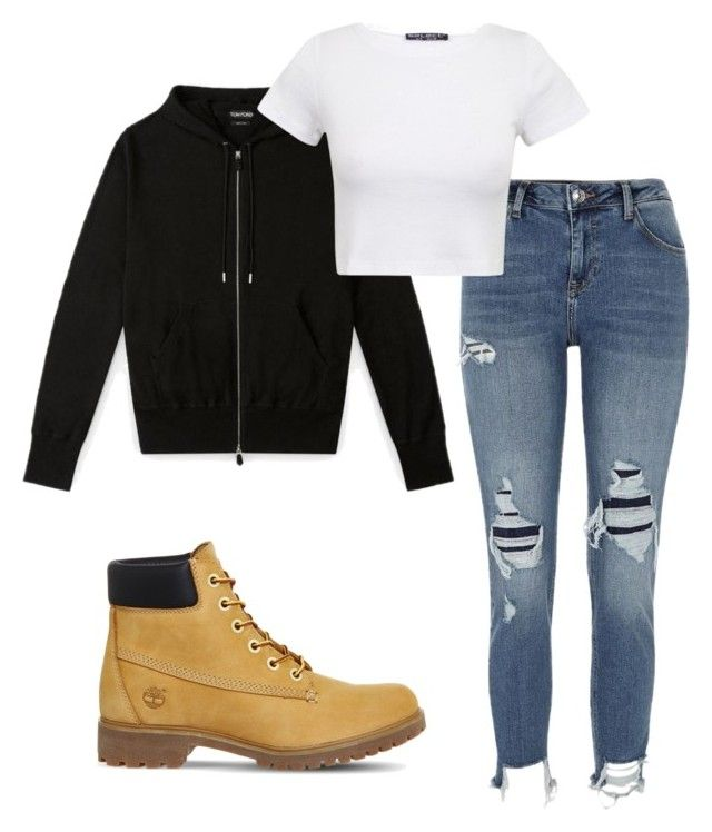 Jungkook style by bambe17 on Polyvore featuring polyvore fashion style River Island Timberland clothing