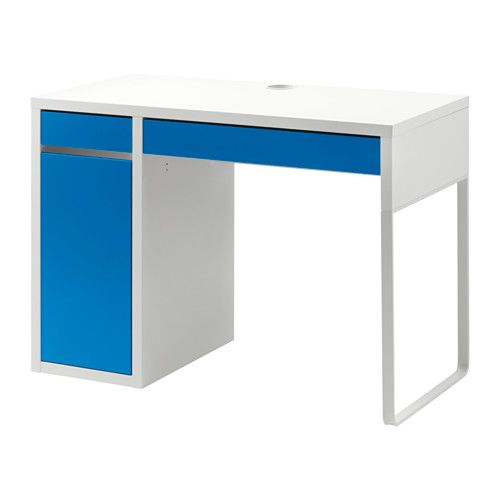 micke desk ikea its easy to keep cords and cables out of sight but close at chic ikea micke desk white