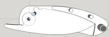 Resultado de imagen para friction folder knife plans