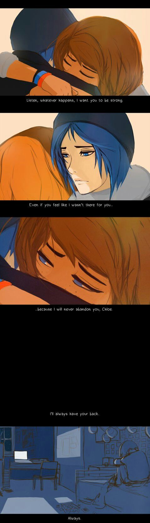 Life is Strange this artist and almost all life is Strange artist are trying to kill me with feels, now I'm crying
