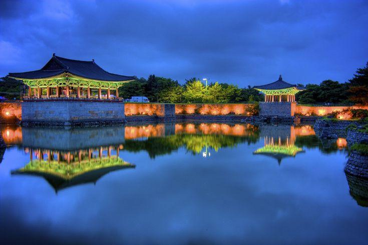 Anapji (Anap Pond) (경주 안압지), South Korea
