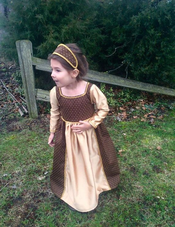 Free Domestic Priority Mail Shipping. Little Girls Pirate Renaissance Costume sizes 3-8 Different Fabrics Available
