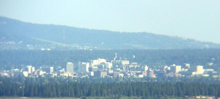 Spokane Washington Skyline