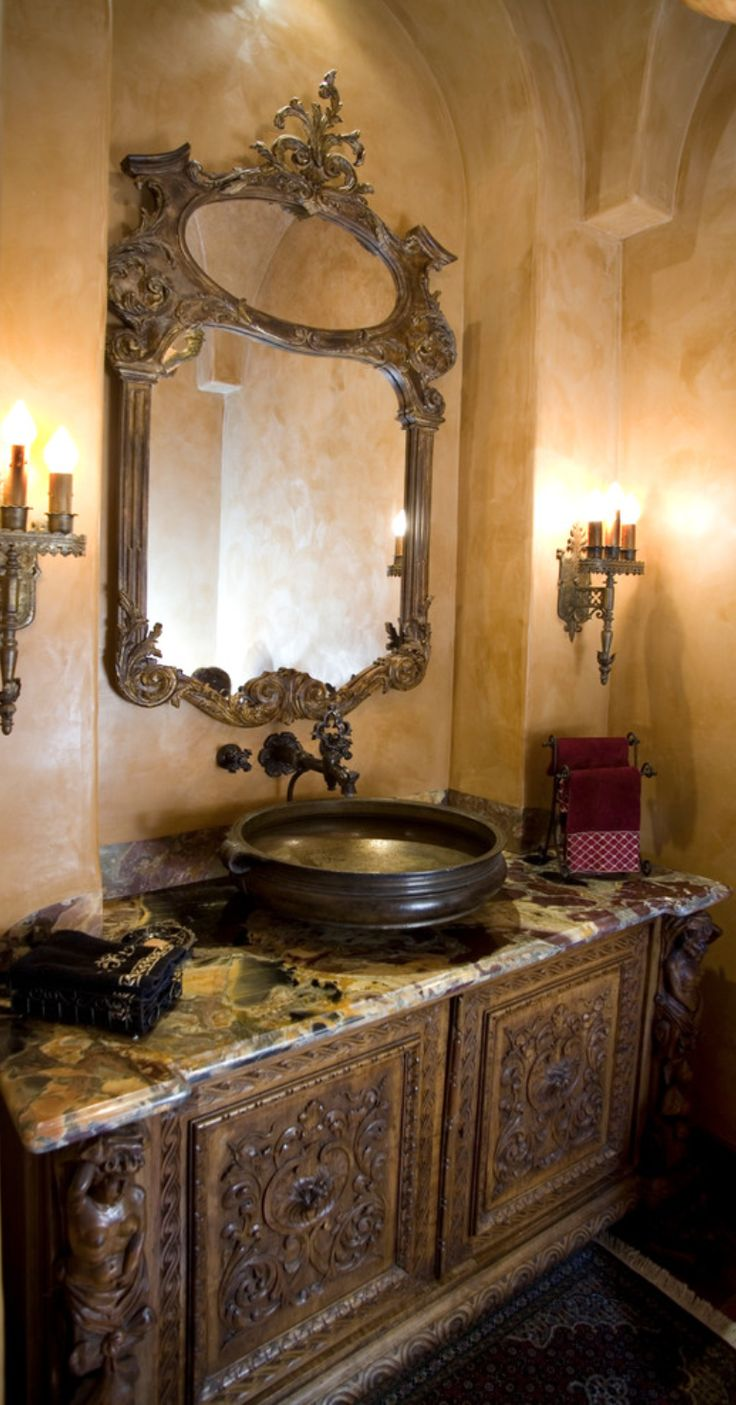 Best 25 old world decorating ideas on pinterest Italian bathrooms