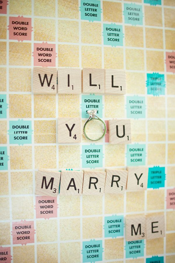 Scrabble proposal! #pedidoscasamento #proposals #casar