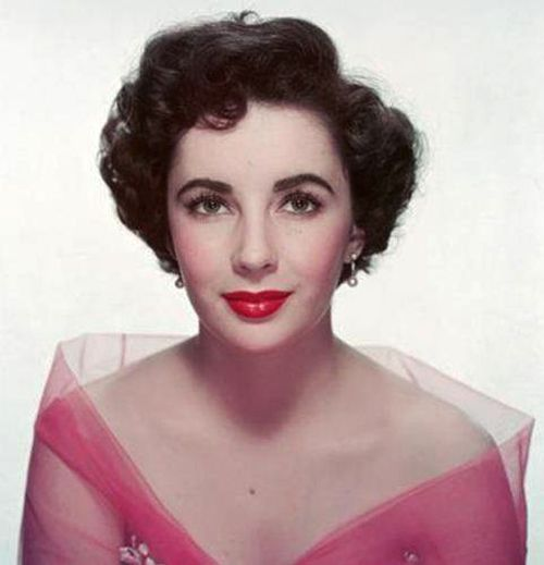 The Hair Style File--Elizabeth Taylor Sets 1950s Trends in Short Curls | GlamAmor