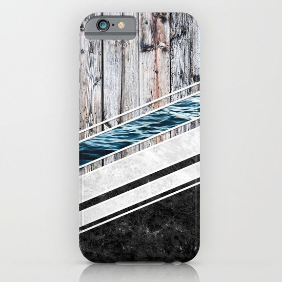 Striped Materials of Nature I iPhone & iPod Case  #wood #wooden #marble #stone #sea #ocean #stripe #stripes #striped #nature #texture #iphone #case