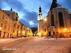 The City Banská Štiavnica  (Slovakia) is known as UNESCO´s  World Cultural Heritage.