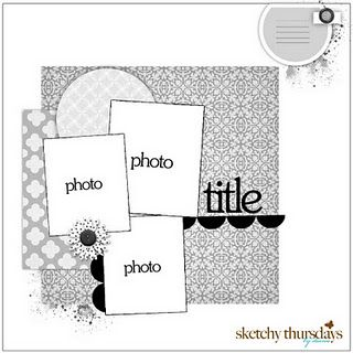 Scrapbooking layout: Scrapbook Ideas, Photos, Scrapbook Layouts, Photo Layout, Scrapbooking Sketches, Scrapbook Sketches, Layout Sketches, Sketchy Thursday, Scrapbooking Layouts