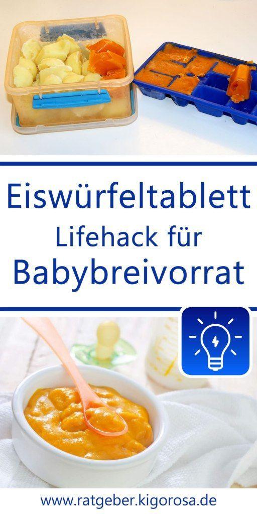 Anleitung für Babybrei auf Vorrat: Beikost abwechslungsreich gestalten – Nina Ich